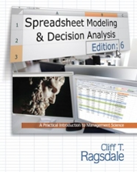 spreadsheet modeling and decision analysis 6th edition solution manual