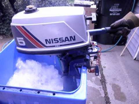 nissan 5 hp outboard manual
