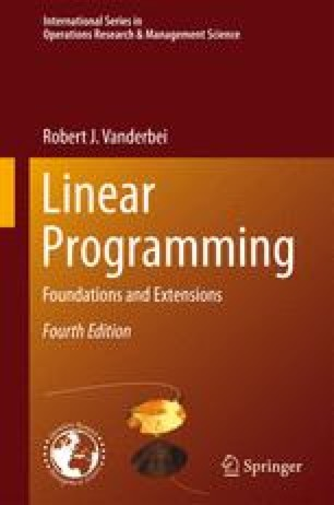 linear programming foundations and extensions solutions manual