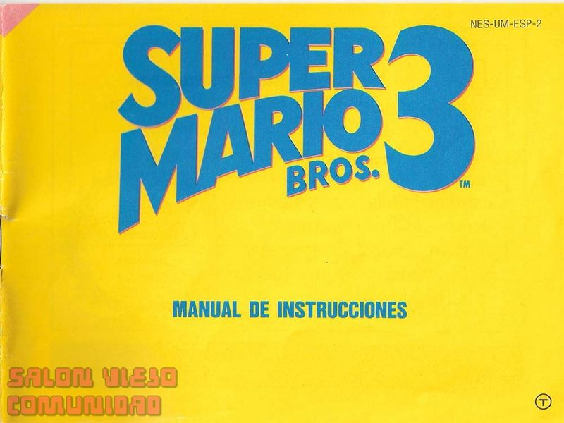 super mario 2 nes manual